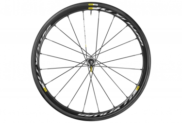 mavic 2016 roue avant ksyrium pro disc pneu yksion pro 25mm