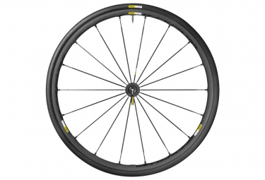 mavic 2016 roue avant ksyrium pro exalith sl noir pneu yksion pro 25mm