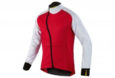 mavic 2016 veste cosmic pro wind rouge blanc