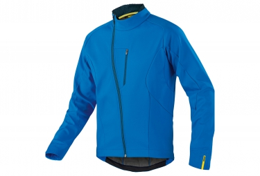 mavic 2016 veste coupe vent aksium thermo bleu