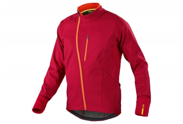 mavic 2016 veste coupe vent aksium thermo rouge