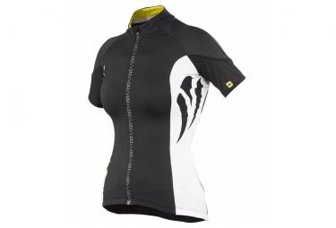 ne pas remettre en ligne mavic maillot femme manches courtes ventoux noir blanc
