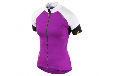 ne pas remettre en ligne mavic maillot manches courtes athena femme blanc violet