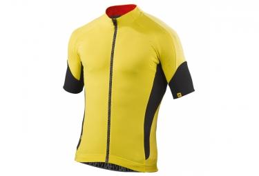 ne pas remettre en ligne mavic maillot manches courtes infinity jaune