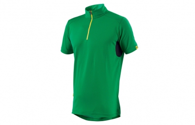 ne pas remettre en ligne mavic maillot manches courtes red rock vert