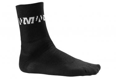 mavic paire de chaussettes thermo noir