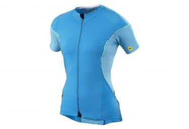 mavic 2015 maillot femme cosmic pro bleu