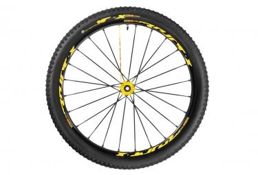 roue avant mavic crossmax xl pro ltd wts 2016 27 5 axe 15x100mm pneu crossmax quest