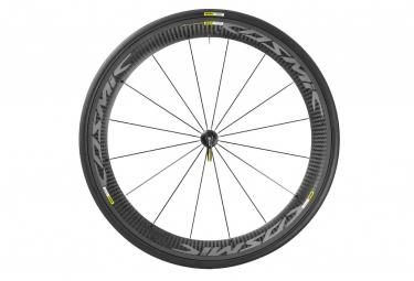 mavic 2016 roue avant cosmic carbone pro exalith pneu yksion pro 25mm