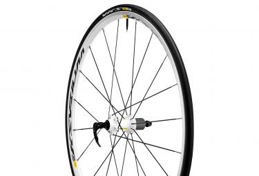 mavic roue arriere ksyrium equipe s blanc campa pneus yksion comp