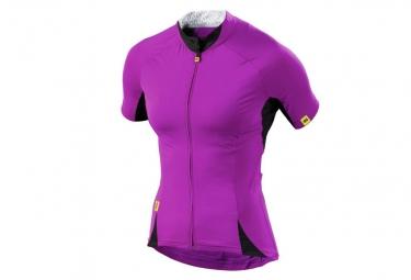 ne pas remettre en ligne mavic maillot manches courtes cloud femme violet
