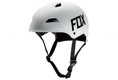 casque bol fox flight hardshell blanc