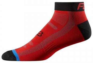 fox paire de chaussettes race 2 rouge