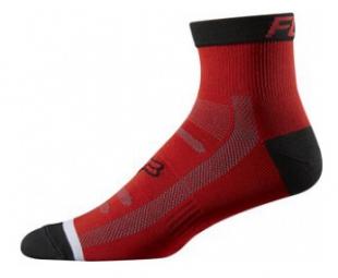 fox paire de chaussettes trail 4 rouge
