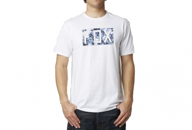 fox t shirt croozade blanc