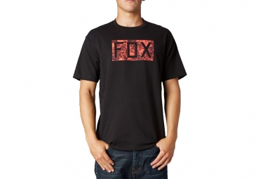 fox t shirt croozade noir