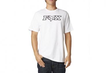 fox t shirt legacy blanc