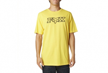 fox t shirt legacy jaune