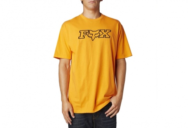 fox t shirt legacy orange