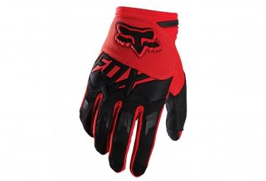fox 2016 paire de gants enfant dirtpaw race rouge