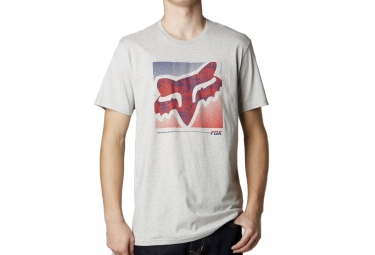 fox t shirt reliever gris