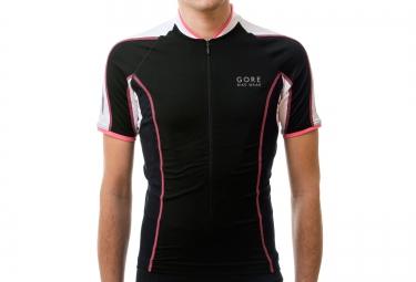 gore bike wear maillot power phantom 2 0 noir blanc