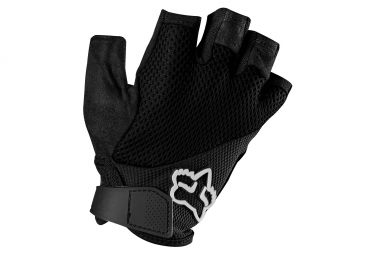 fox gants courts femme reflex noir