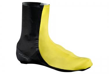 mavic couvre chaussures cxr ultimate noir jaune
