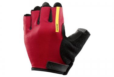 mavic paire de gants aksium rouge noir