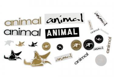 animal kit stickers pack