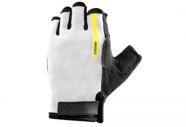mavic paire de gants aksium w blanc noir femme