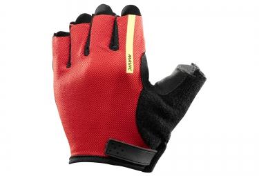 mavic paire de gants aksium noir rouge vif