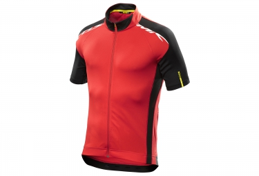 mavic maillot cosmic elite rouge noir