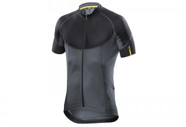 mavic maillot ksyrium pro gris noir