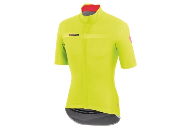 castelli maillot gabba 2 windstopper jaune