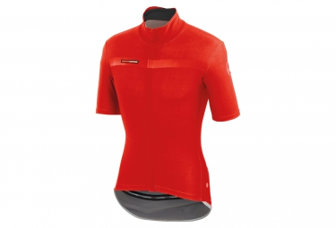 castelli maillot gabba 2 windstopper rouge