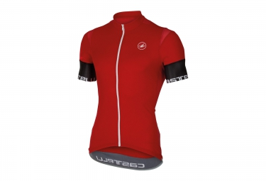 castelli maillot entrata 2 prosecco 3d rouge