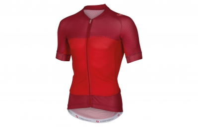 castelli maillot aero race 5 1 rouge