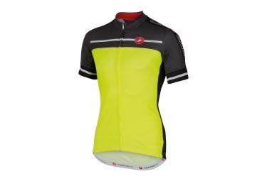 castelli maillot velocissimo jaune noir