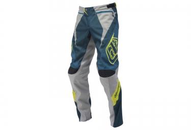 troy lee designs 2016 pantalon sprint reflex bleu gris