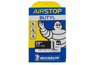 michelin chambre a air airstop 29x 1 90 2 60 schrader