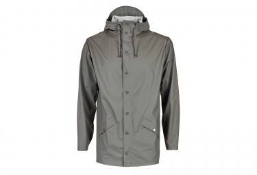 rains veste jacket gris