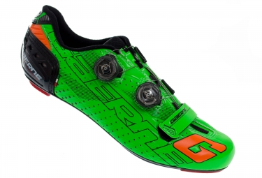 gaerne 2016 chaussures g stilo carbon edition limitee colors vert fluo