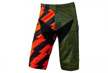 troy lee designs 2016 short moto vert orange