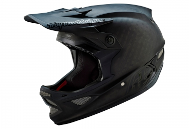 casque integral troy lee designs d3 carbon mips midnight 2016 noir mat
