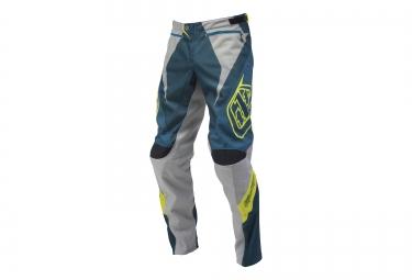 troy lee designs 2016 pantalon enfant sprint bleu gris