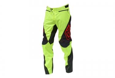 troy lee designs 2016 pantalon enfant sprint jaune fluo