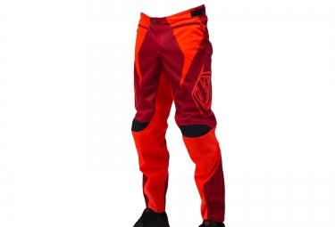 troy lee designs 2016 pantalon enfant sprint rouge orange