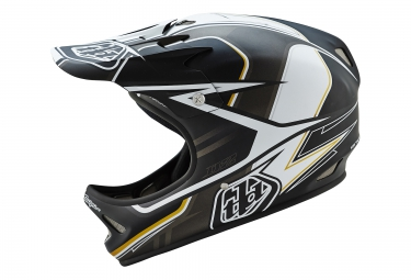 casque integral troy lee designs d2 sonar 2016 noir blanc
