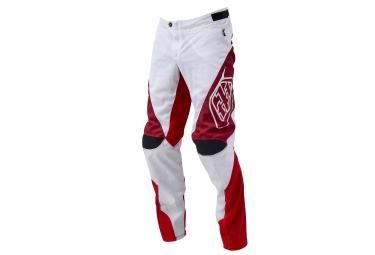 troy lee designs 2016 pantalon sprint blanc rouge